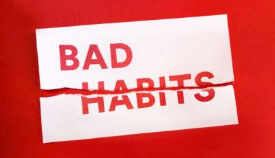 Breaking a habit